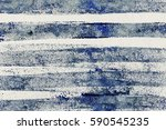 abstract brush strokes painting ... | Shutterstock . vector #590545235