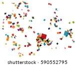 flat design element.abstract... | Shutterstock . vector #590552795