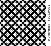 vector monochrome seamless... | Shutterstock .eps vector #590629031