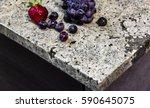 granite kitchen counter top... | Shutterstock . vector #590645075