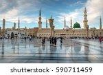 medina  kingdom of saudi arabia ...   Shutterstock . vector #590711459