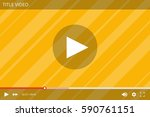 video player interface for the...