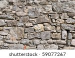 Irregular Natural Stone Wall ...