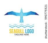 seagull logo | Shutterstock .eps vector #590775521