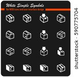 box vector icons for user...   Shutterstock .eps vector #590775704