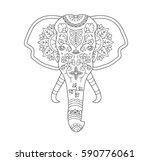 vector illustration hand drawn... | Shutterstock .eps vector #590776061