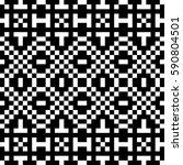 vector seamless pattern.... | Shutterstock .eps vector #590804501