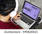 Small photo of Listen Music Entertain Melody Harmony
