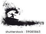 Surfing Grunge Wave