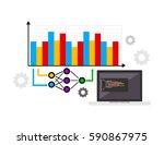 business prediction. business...   Shutterstock .eps vector #590867975