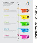 time line infographic and icons ...   Shutterstock .eps vector #590904461