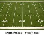 empty american football field...   Shutterstock . vector #59094508