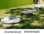 basic resident waste water... | Shutterstock . vector #590959085