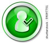 online user icon | Shutterstock . vector #59097751