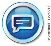 message icon | Shutterstock . vector #59097757