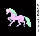 unicorn. | Shutterstock .eps vector #590983169