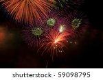 fireworks display. | Shutterstock . vector #59098795