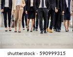 moment businessman  running... | Shutterstock . vector #590999315