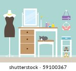 vector illustration of a... | Shutterstock .eps vector #59100367