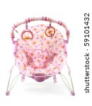 A Baby Bouncer Isolated Agains...