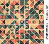 geometric seamless pattern... | Shutterstock .eps vector #591030404