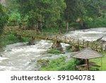 southern laos bachiang | Shutterstock . vector #591040781