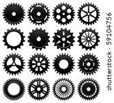 Machine Gear Wheel Cogwheel...