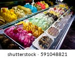 variety of different flavors...   Shutterstock . vector #591048821