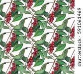 floral pattern | Shutterstock . vector #591061469