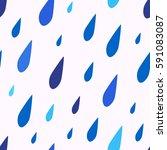 vector seamless pattern of... | Shutterstock .eps vector #591083087
