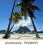 view from bora bora   Shutterstock . vector #59108455