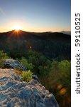 a photo of sunrisen from ...   Shutterstock . vector #59110525
