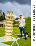 Pisa Tower  Italy In Miniature...