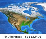 detailed satellite view of the... | Shutterstock . vector #591132401