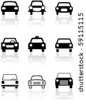 vector set of different car... | Shutterstock .eps vector #59115115