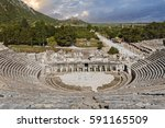 Roman Amphitheatre In Ephesus ...