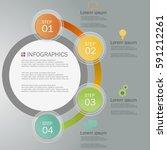 business infographics design... | Shutterstock .eps vector #591212261