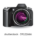 digital camera | Shutterstock . vector #59122666