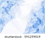 abstract multicolor mosaic... | Shutterstock .eps vector #591259019