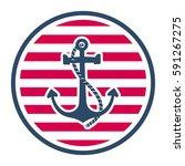 sailing label   Shutterstock .eps vector #591267275