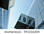 modern office building | Shutterstock . vector #591316304