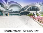 beijing  china   oct 19.soho ... | Shutterstock . vector #591329729