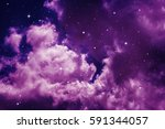 space of night sky with cloud... | Shutterstock . vector #591344057
