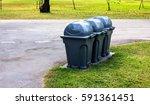 colorful bin | Shutterstock . vector #591361451