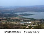 Hartbeespoort Dam And The Town...