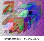 navigation texture art   Shutterstock .eps vector #591422879