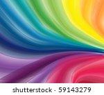rainbow splash. vector... | Shutterstock .eps vector #59143279