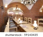 3d interior salon and classic... | Shutterstock . vector #59143435