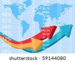 finance report  vector | Shutterstock .eps vector #59144080