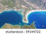 paragliding in oludeniz ...   Shutterstock . vector #59144722